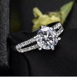 Romantic Engagement Style Ring